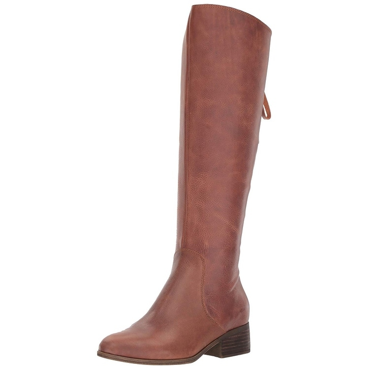 a68dff78d38 Shop Lucky Brand Womens lanesha Almond Toe Knee High Fashion Boots - Free  Shipping On Orders Over  45 - Overstock - 21478824