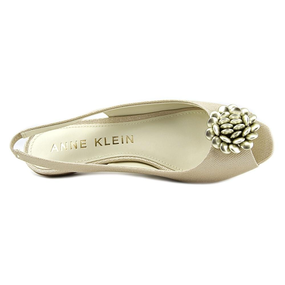 469c0be8face Shop Anne Klein Liza Open-Toe Synthetic Slingback Sandal - Free Shipping On  Orders Over  45 - Overstock.com - 17602878