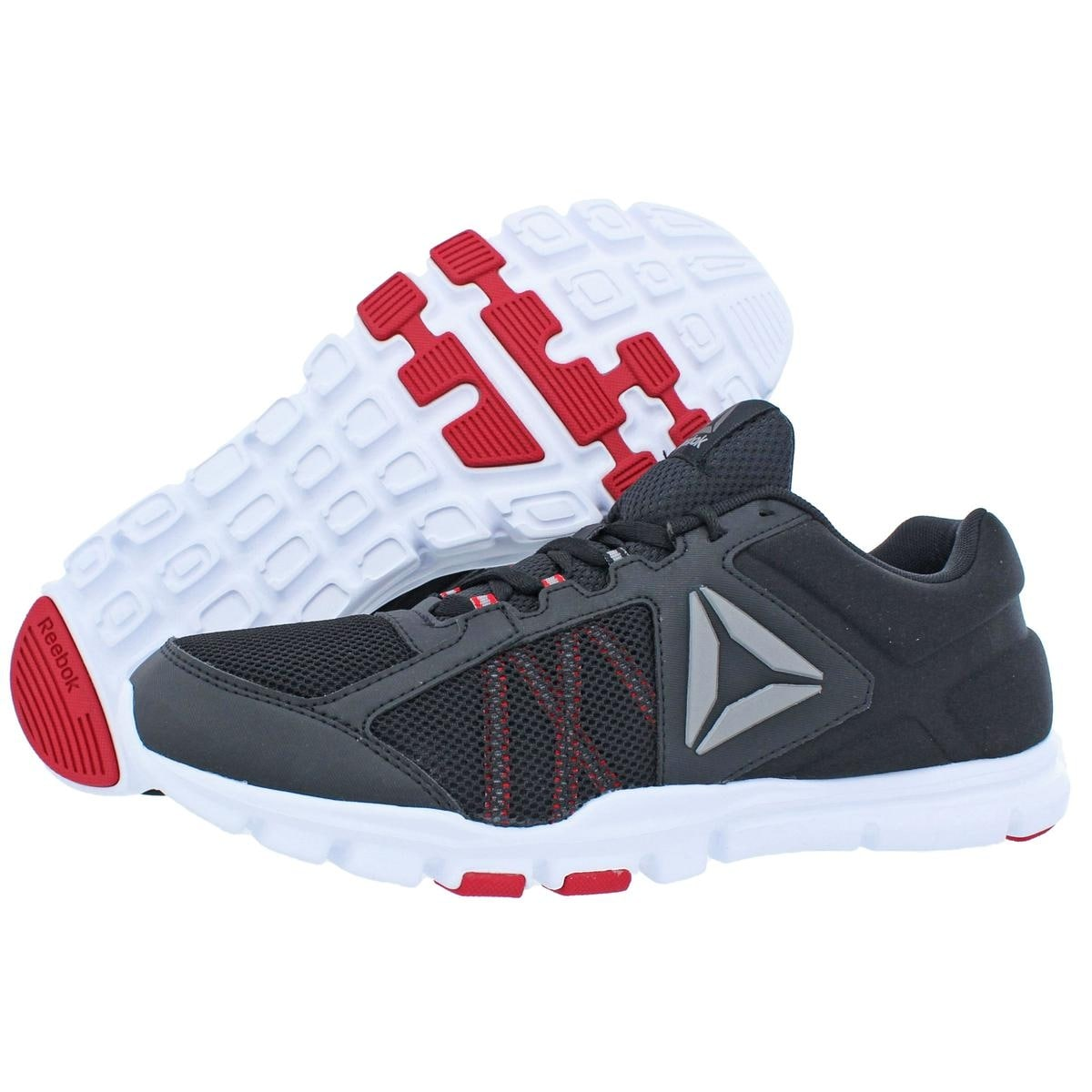 e9274c3bb2b25f Shop Reebok Mens Yourflex Train 9.0 MT Trainers Memory Tech Comfortable -  Free Shipping On Orders Over  45 - Overstock - 22727155