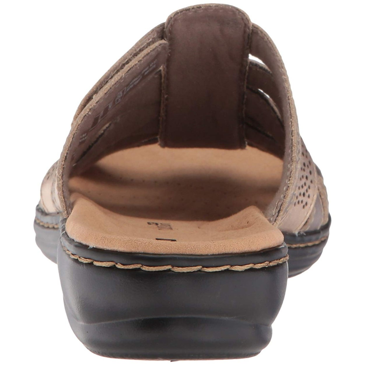 ddf5944a5dc2 Shop CLARKS Womens leisa fields Open Toe Casual Slide Sandals - Ships To  Canada - Overstock - 20722183