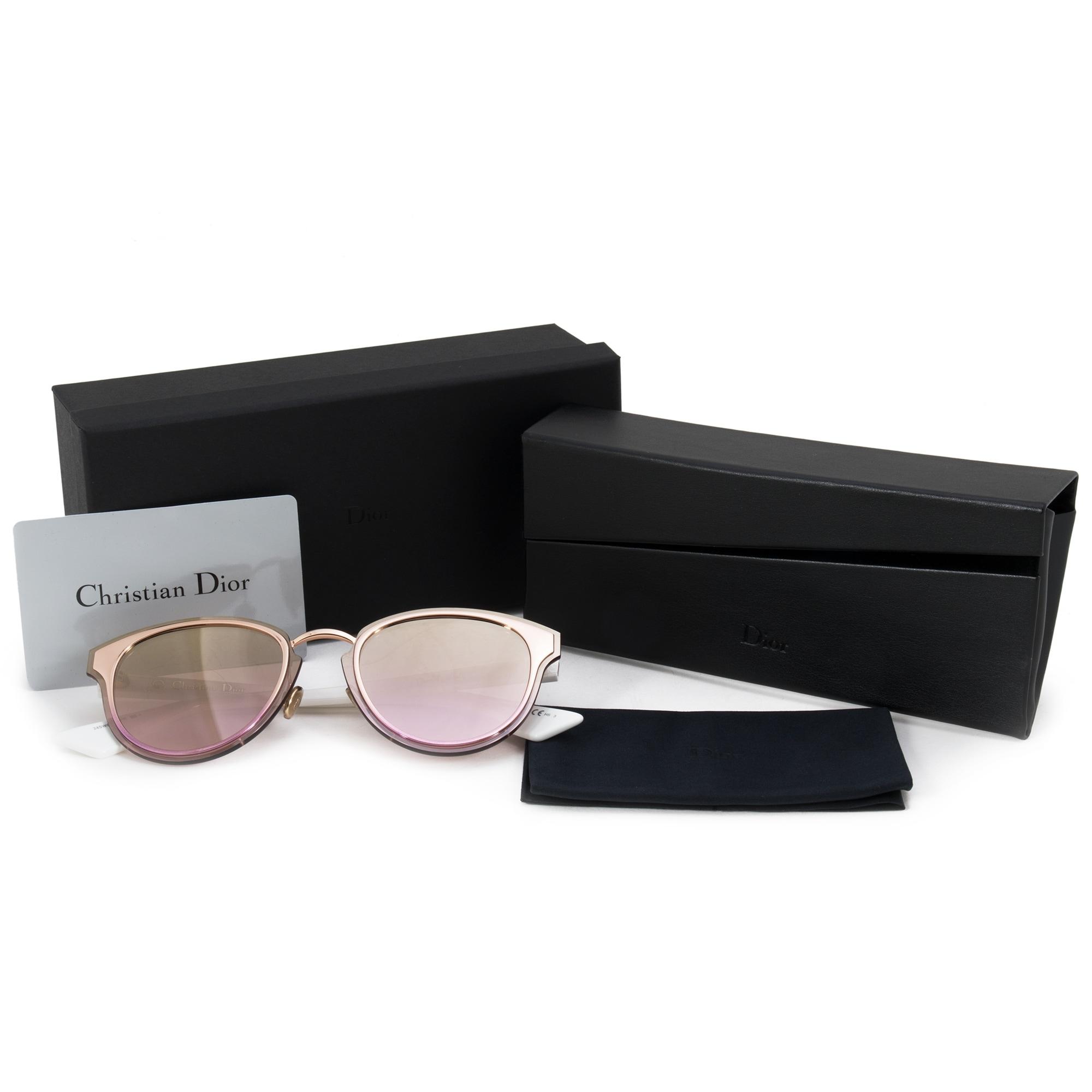 0b62c75d40 Shop Christian Dior Nightfall Cat Eye Sunglasses 24SWO 65 - Free Shipping  Today - Overstock - 25895087