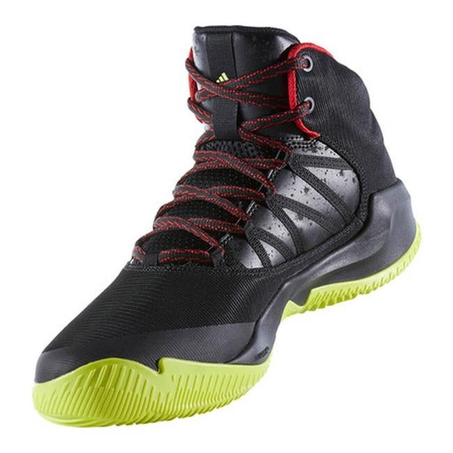 5ee47a774df Shop adidas Men s Infiltrate Basketball Shoe Core Black Scarlet Semi Solar  Yellow - Free Shipping Today - Overstock - 17917616
