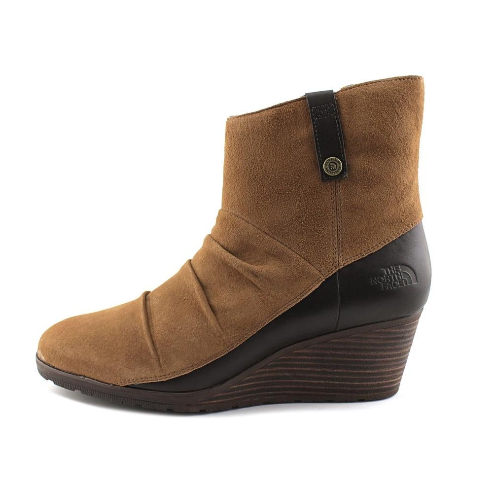 34e886163e2 Shop The North Face Bridgeton Wedge Zip Women Dachshund Brown Darkest  Spruce Boots - Free Shipping On Orders Over  45 - Overstock - 18017045