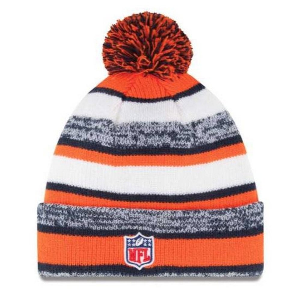 Shop New Era Denver Broncos NFL Stocking Knit Hat Winter Beanie On Field  Pom 11008754 - Free Shipping On Orders Over  45 - Overstock.com - 19113845 1cb7d3893