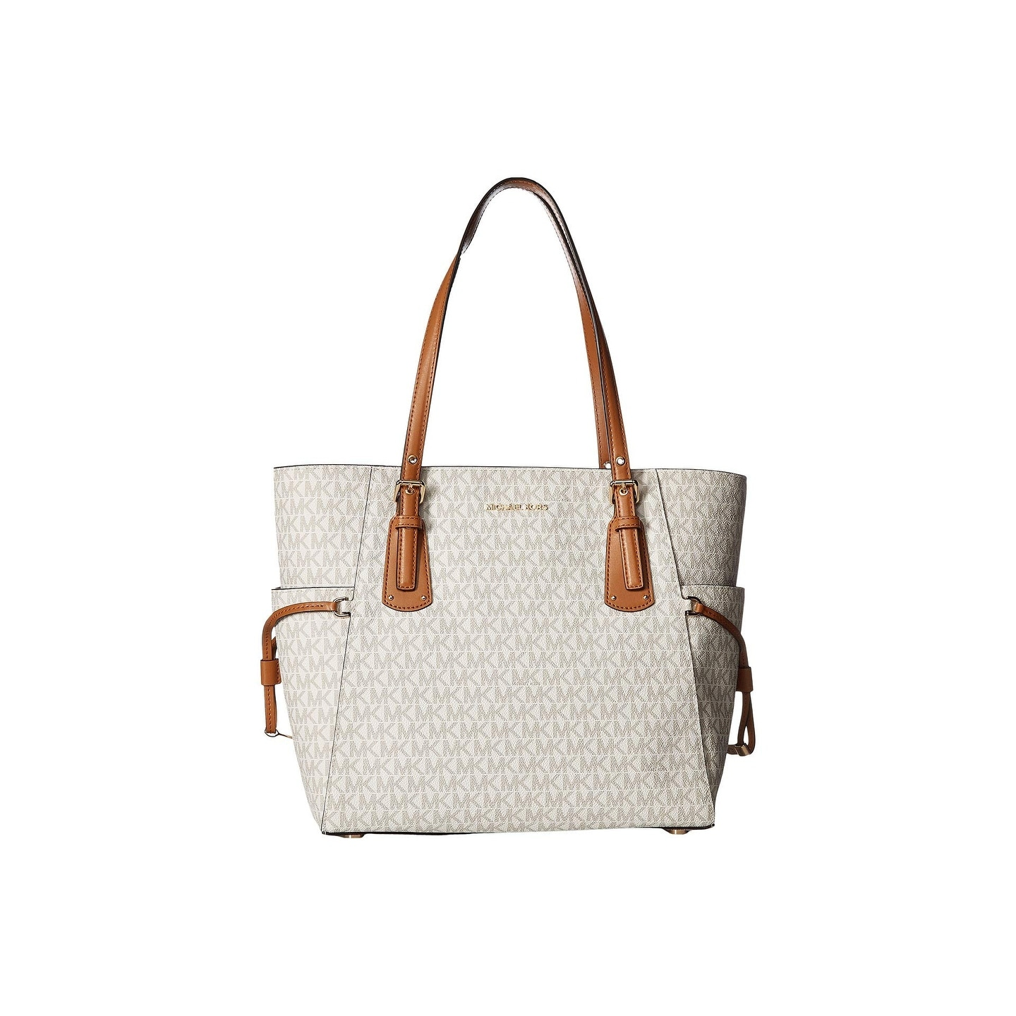 978af618b894 Shop MICHAEL Michael Kors Voyager East/West Signature Tote - Free ...