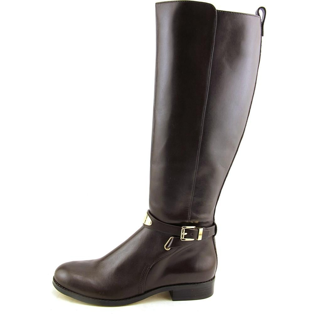 f84f41b491e6 Shop Michael Michael Kors Arley Riding Boot Wide Calf Women Brown Knee High  Boot - Free Shipping On Orders Over  45 - Overstock - 13775828