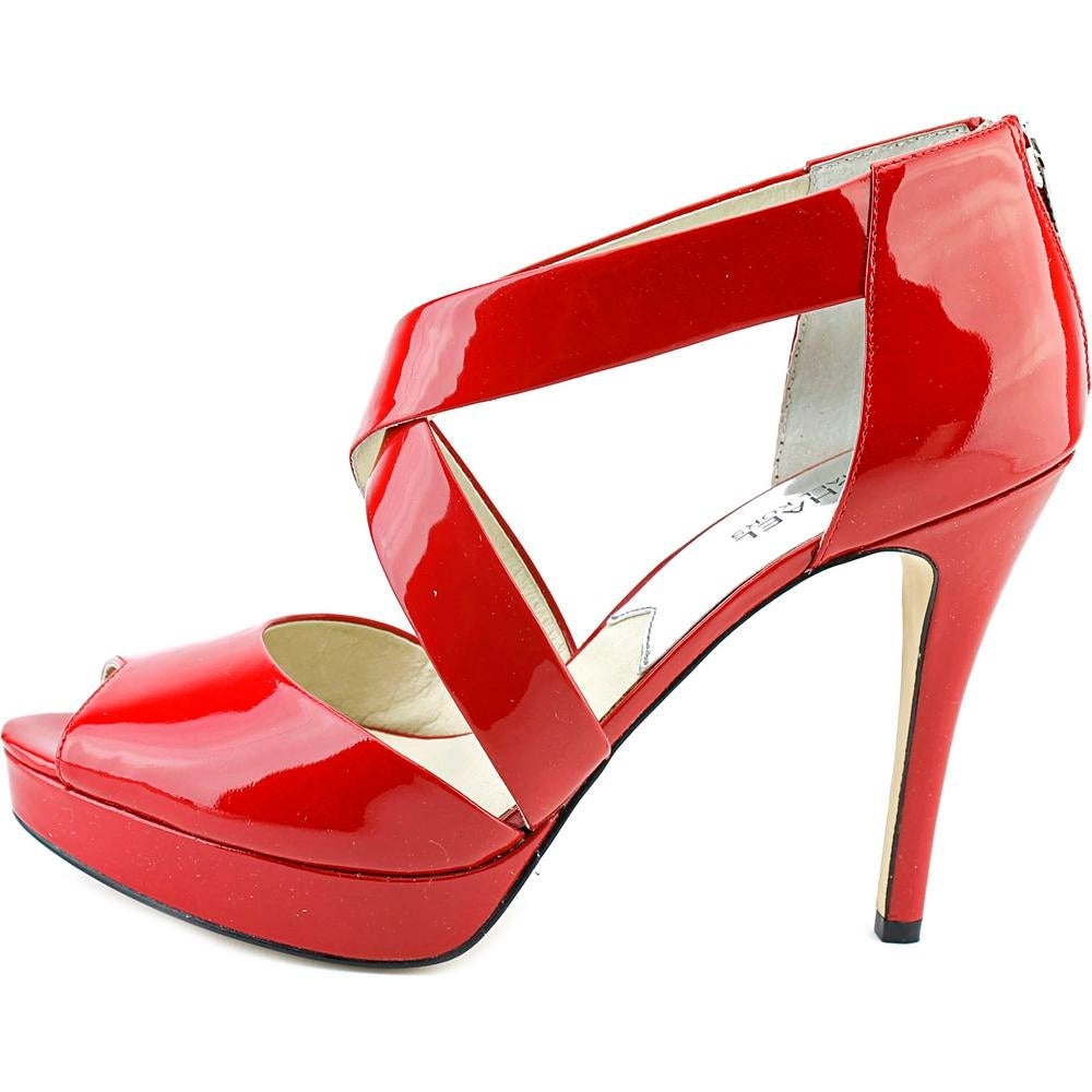 19575cb517b Shop Michael Michael Kors Ariel Platform Open Toe Patent Leather Platform  Sandal - Free Shipping On Orders Over  45 - Overstock - 13567965