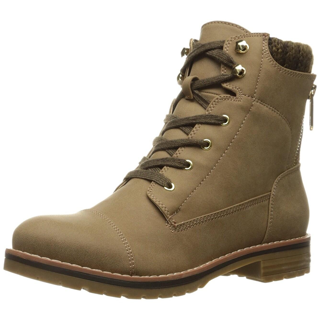 ea1cdb7fb2b51 Shop Tommy Hilfiger Womens Omar2 Closed Toe Ankle Combat Boots ...