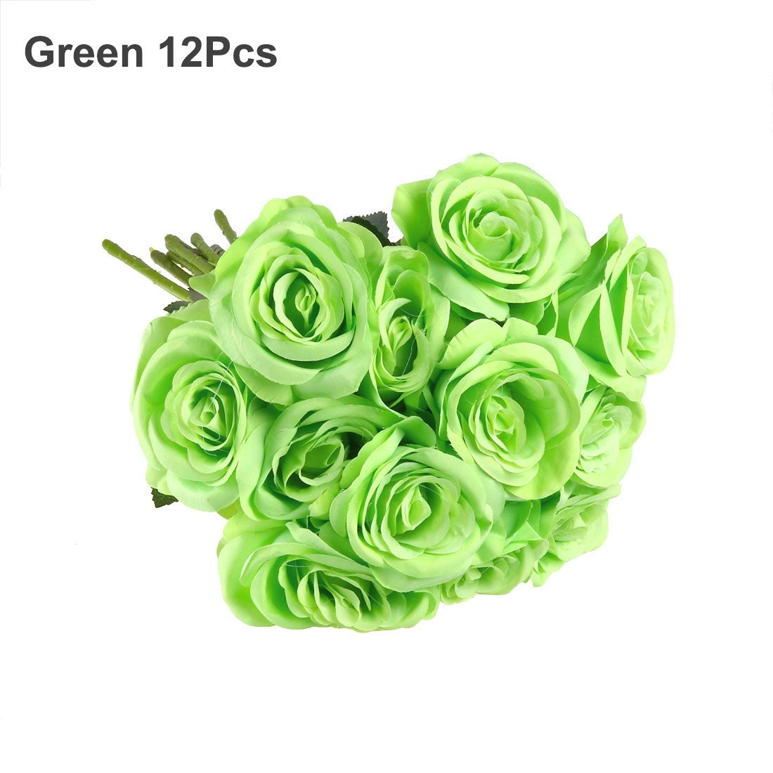 Shop Artificial Silk Rose Flower Bouquet Wedding Party Home Decor