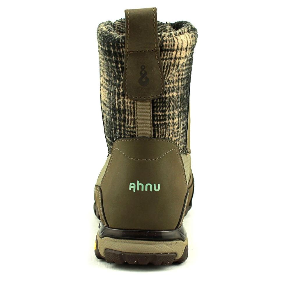 006b1735de6 Ahnu Sugar Peak Insulated Wp Women Round Toe Synthetic Brown Snow Boot