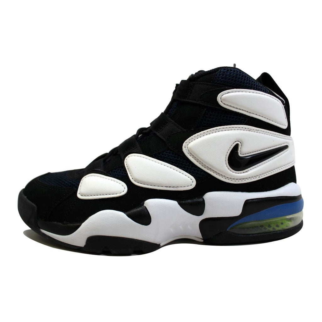 4e75734e45 Shop Nike Men's Air Max Uptempo 2 Black/Black-White Duke 472490-001 - Free  Shipping Today - Overstock - 20139450