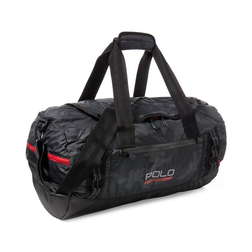 2e4b91a406 Shop Polo Ralph Lauren NEW Black Ripstop Sport Men s Duffel Gym Handbag -  Free Shipping Today - Overstock - 21164402