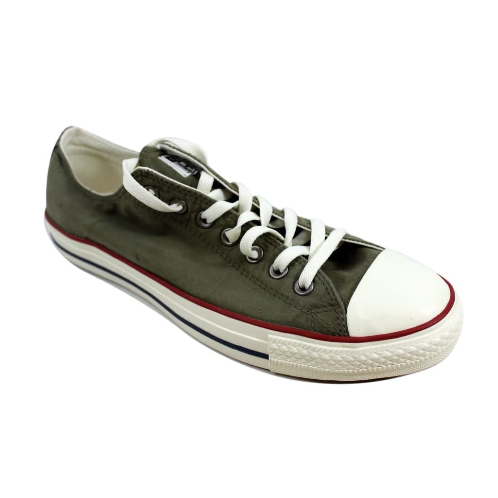 21187496a95f Shop Converse Men s Chuck Taylor All Star Ox Medium Olive Garnet-Egret  157641F - Free Shipping Today - Overstock - 24306060