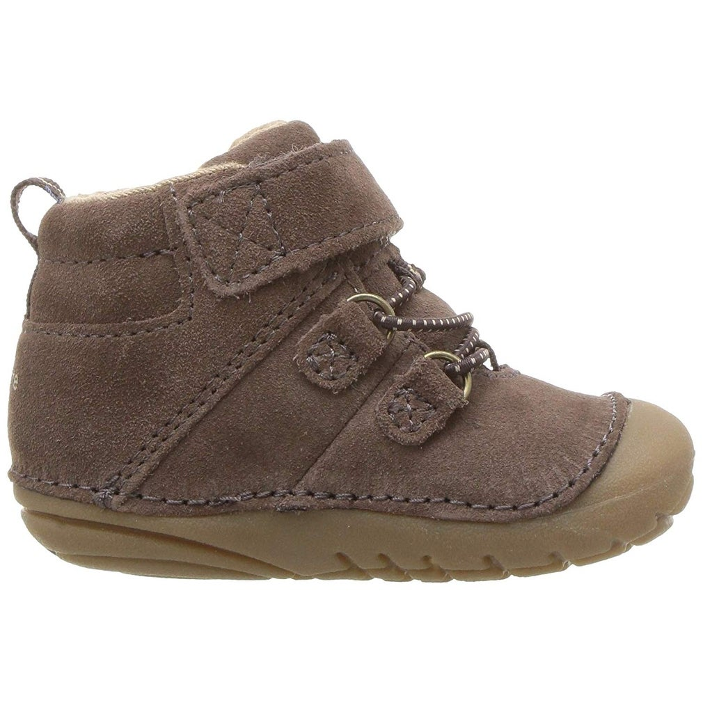 f6cc5926c41ab Stride Rite Kids Blake Baby Boy's High-top Suede Sneaker Ankle Boot - 6 M  US Toddler