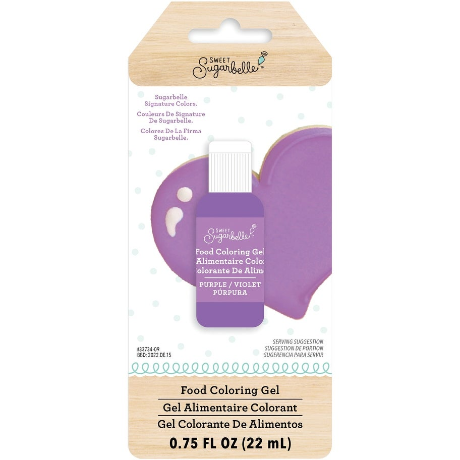 Shop Sweet Sugarbelle Gel Food Coloring -Purple - Free Shipping On ...