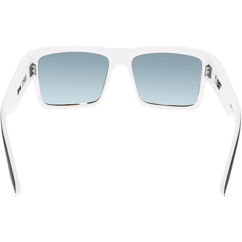 7f5439b656dc9 Shop Spy Men s Cyrus 673180209365 Black White Square Sunglasses - Free  Shipping Today - Overstock - 18969194
