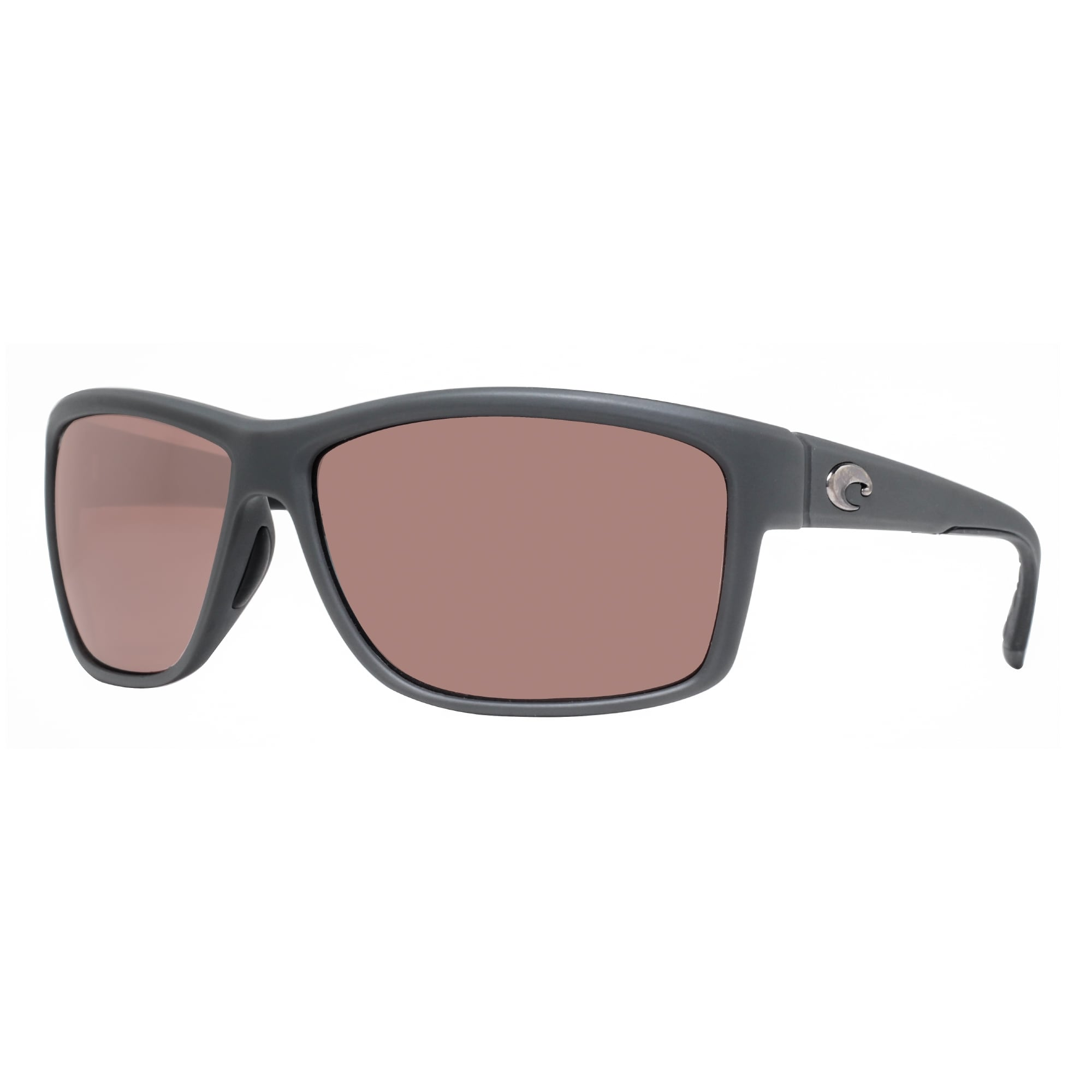 60bb55b45 Costa Del Mar Mag Bay AA98OSCP Matte Gray 580P Copper Silver Mirror  Sunglasses - matte grey - 63mm-14mm-132mm