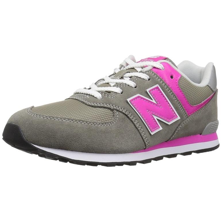 7218ce8d0 Shop Kids New Balance Girls IC574 Low Top Lace Up Walking Shoes ...