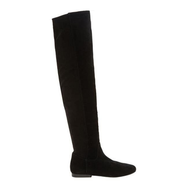 9bc52d8dc5c Shop Lucky Brand Women s Gavina Over the Knee Boot Black Suede - Free  Shipping Today - Overstock - 19988969