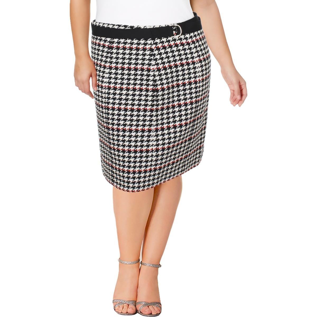 58eac68f84 Shop BOSS Hugo Boss Womens Vulnona Pencil Skirt Textured Knee-Length ...