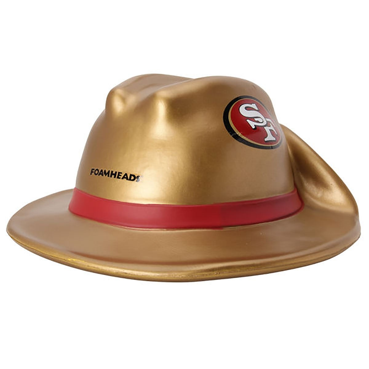 Shop NFL Team Mascot Foamhead Hat  San Francisco 49ers Prospector Hat -  Multi - Free Shipping On Orders Over  45 - Overstock - 19428037 81e0f3c0bf5