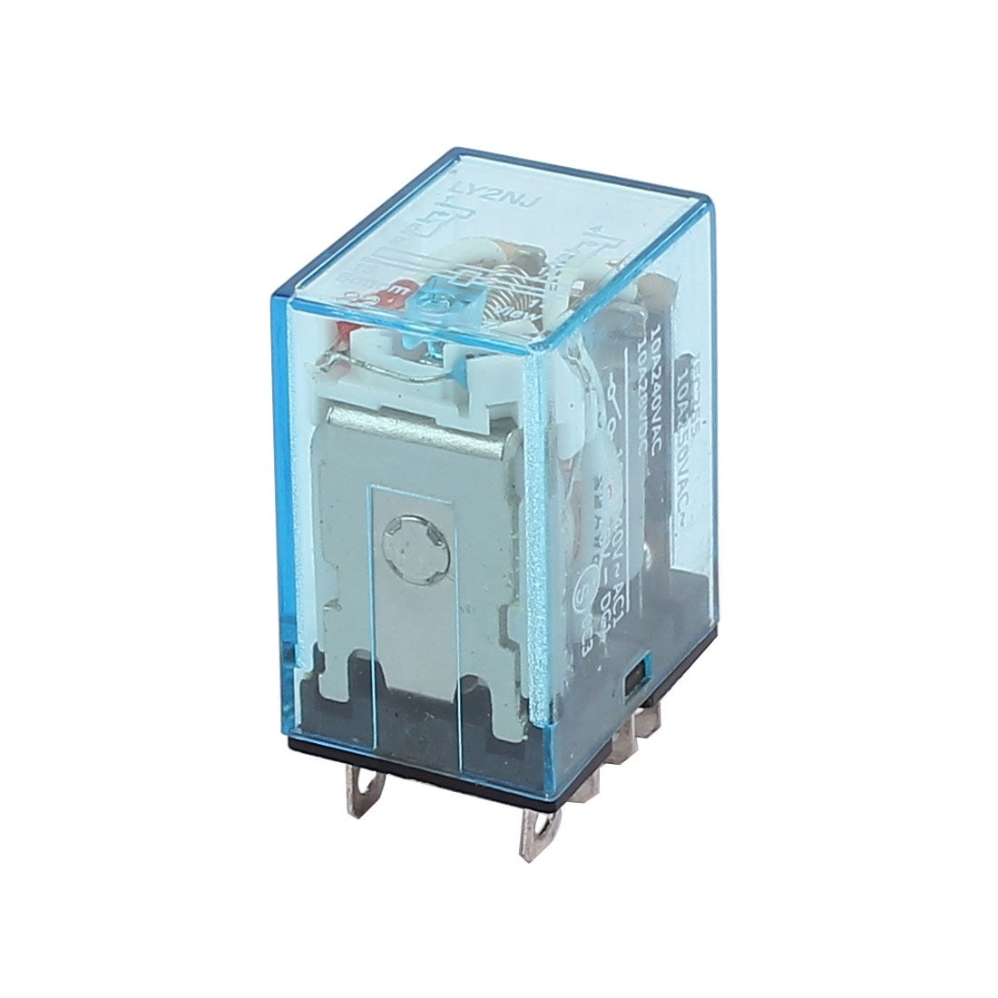 Shop Ly2nj Ac200 220v Coil General Purpose Power Relay 8pin 10a Ac Electrical Quiz 240v Dc 28v Free Shipping On Orders Over 45 18260699