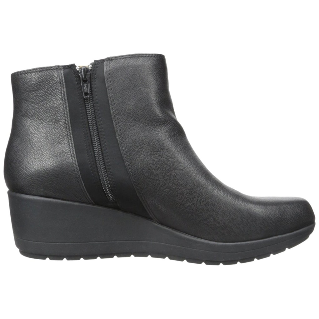 dfa5589f36b Shop Easy Spirit Womens Cheltzie Leather Closed Toe Ankle Fashion Boots -  Free Shipping Today - Overstock - 14525438