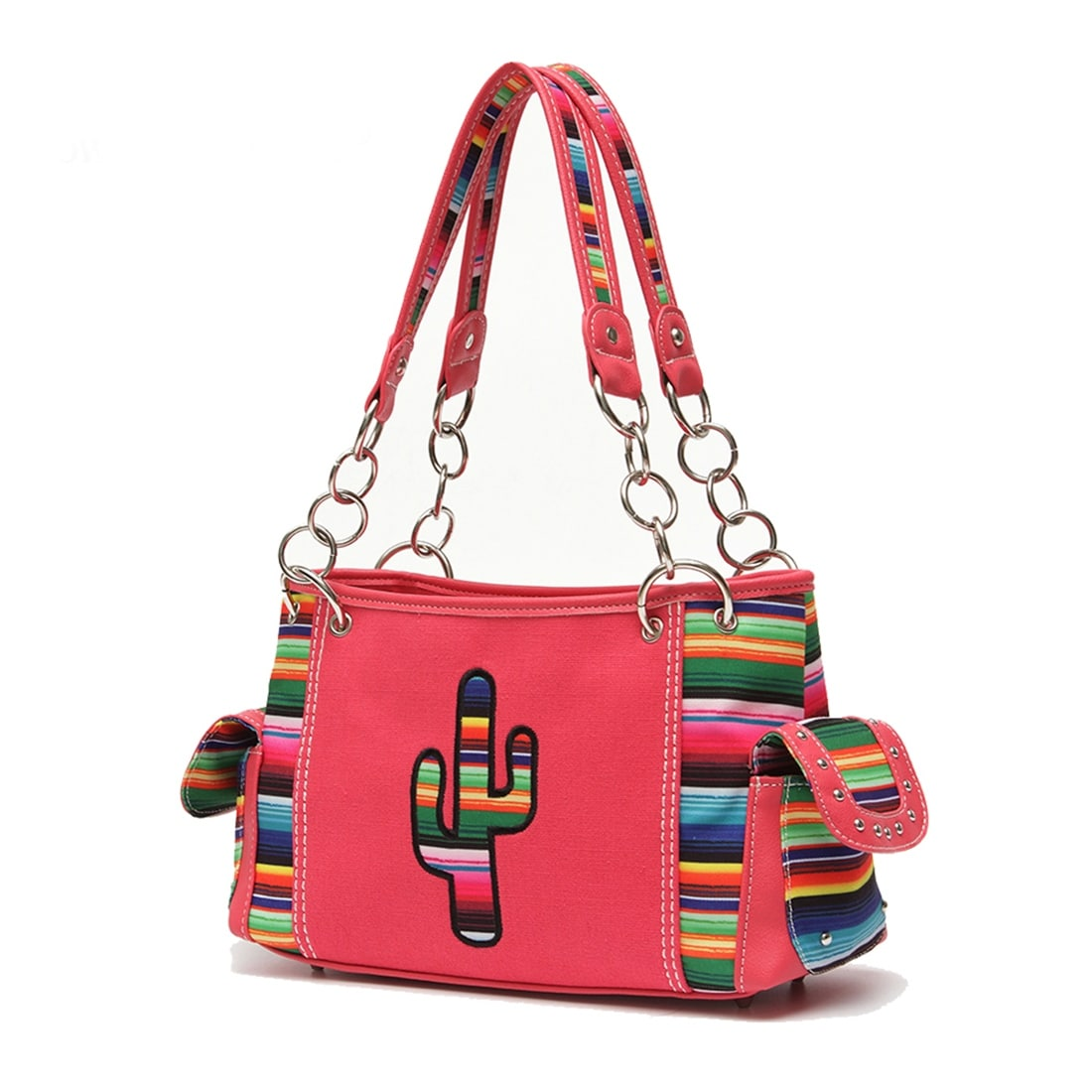 8a6066aadf Shop colorful serape strip embroidered cactus concealed carry purse free  shipping on orders over jpg 1100x1100