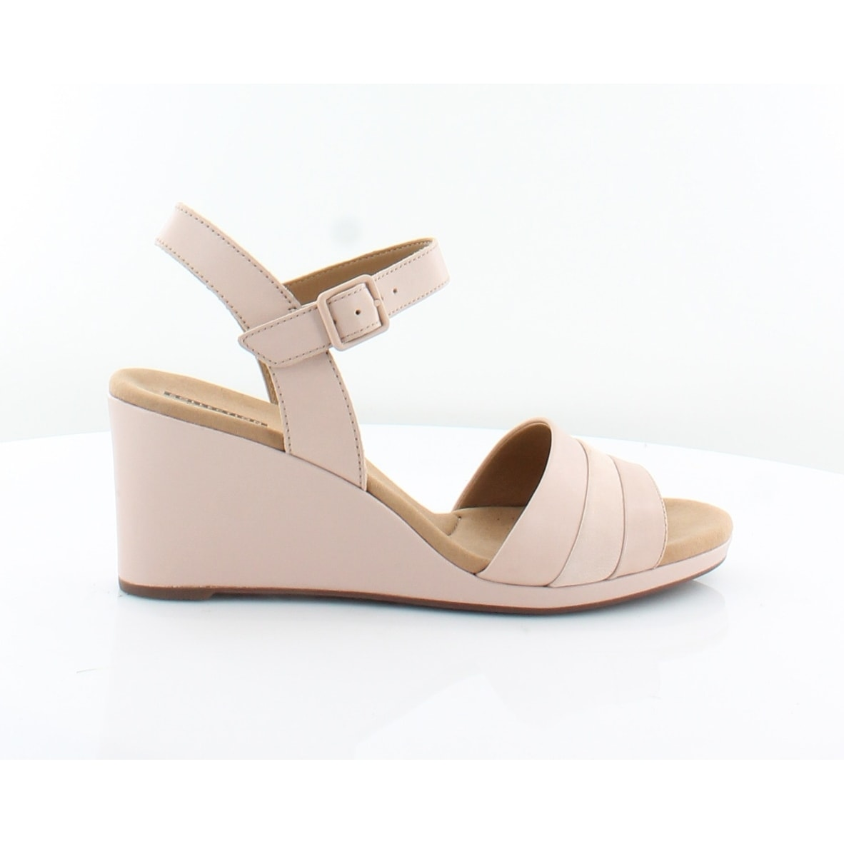 84cb9180a116 Shop Clarks Lafley Aletha Women s Sandals Dusty Pink - 10 - Free Shipping  Today - Overstock - 27223331