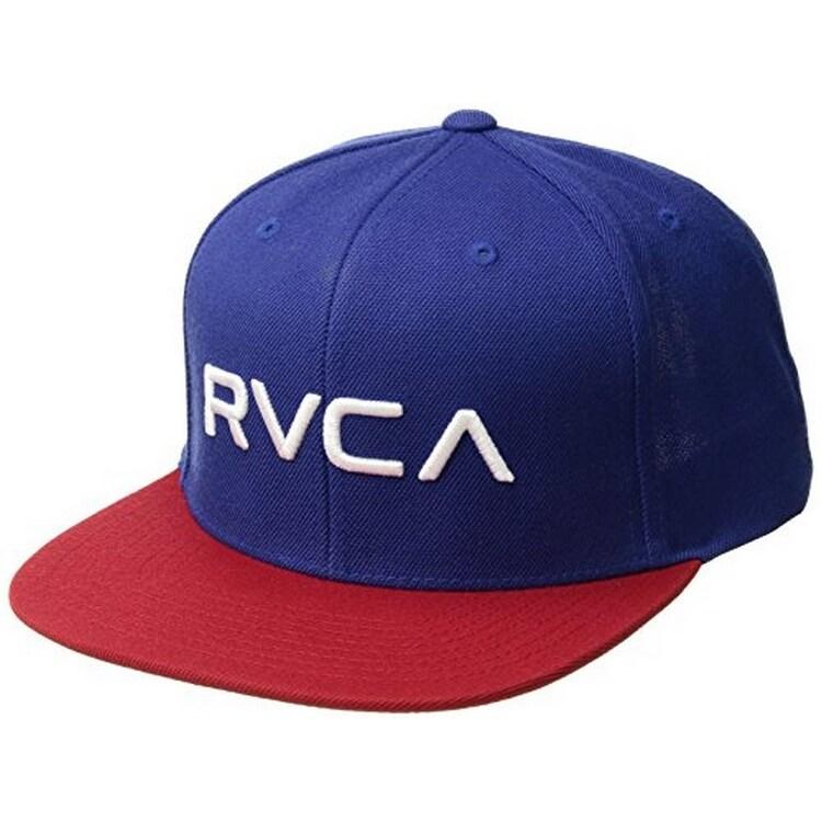 100% authentic fef24 478ee Rvca Mens Rvca Twill Snapback Hat, Adult