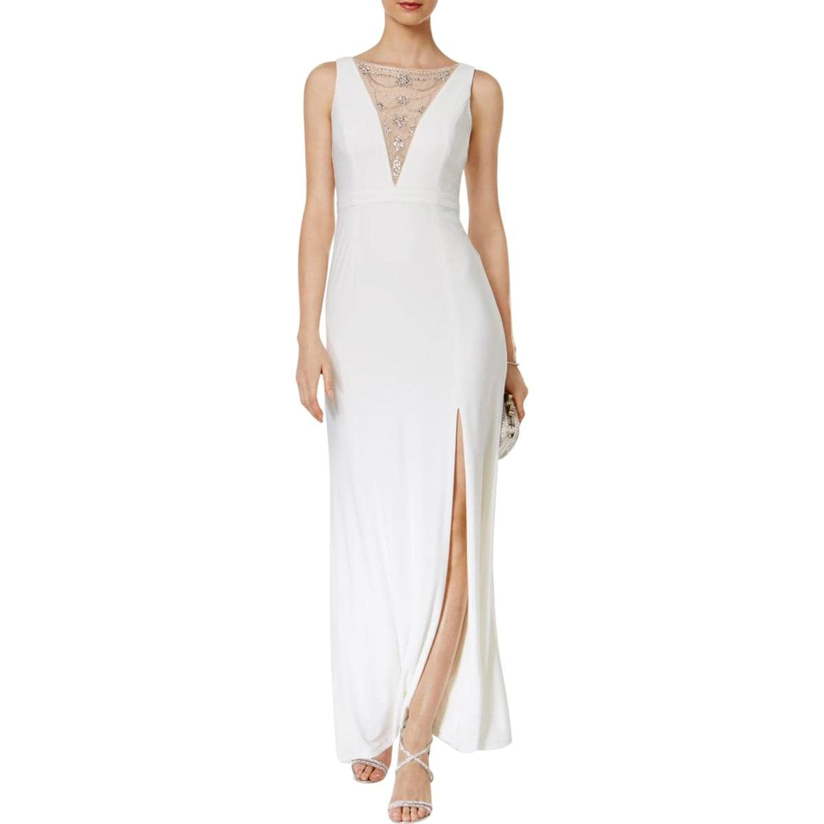Shop Adrianna Papell Womens Evening Dress Embellished Special ...