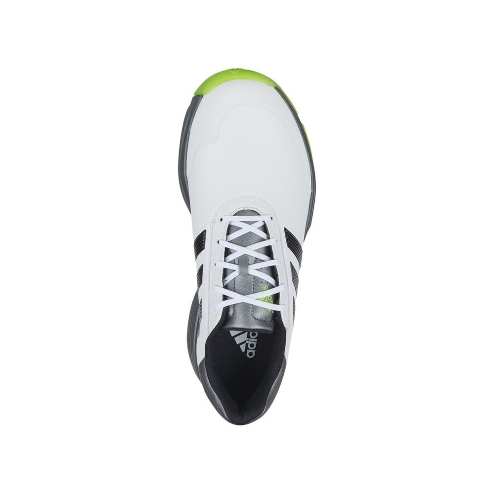 ce80ccaa5 Shop Adidas Men s Adipower Bounce White Black Solar Slime Golf Shoes  Q44787-Q44790 - Free Shipping Today - Overstock - 26289838