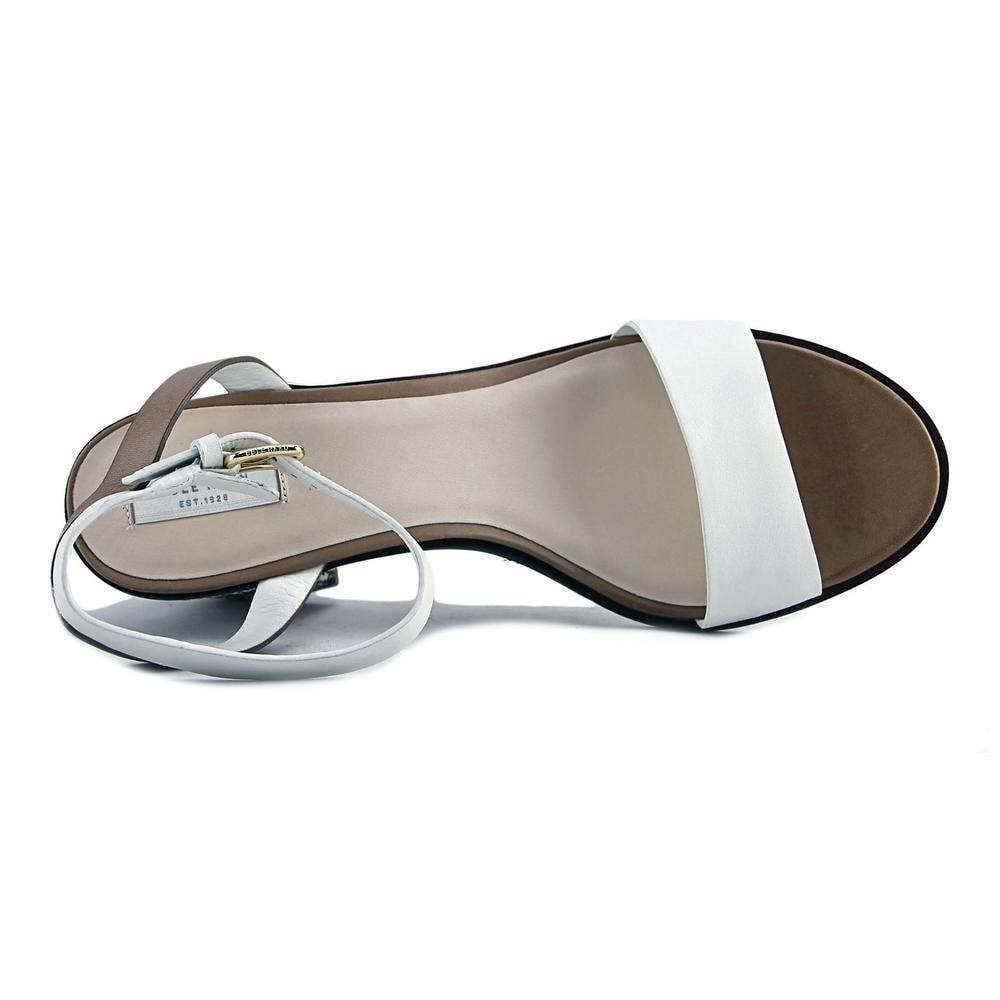 e79b61e667f0 Shop Cole Haan Cambon Mid.Sandal Women White Snk Prt Sandals - Free  Shipping Today - Overstock - 17836756