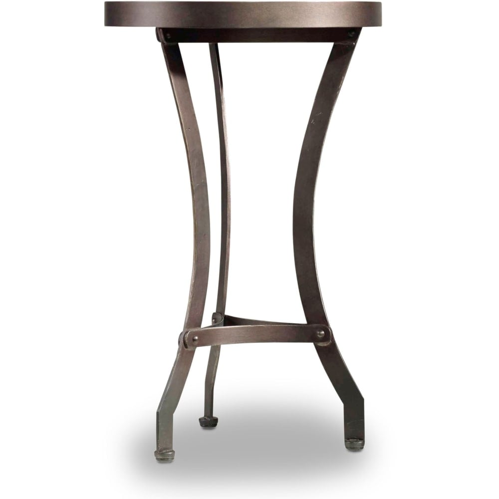 Shop hooker furniture 5601 50002 15 wide acacia wood accent table from the saint armand collection vintage metallic n a free shipping today