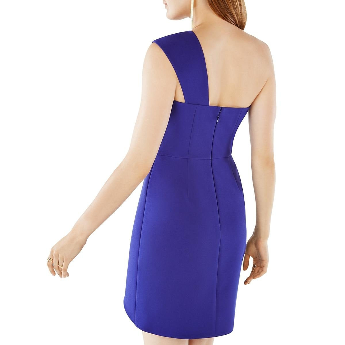 ce323a0f28f Shop BCBG Max Azria Womens Aryanna Cocktail Dress One-Shoulder Mini - Free  Shipping Today - Overstock - 17159085