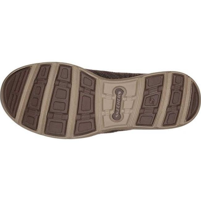 5373e4e302d5 Shop Skechers Men s Relaxed Fit Harper Deren Loafer Chocolate - Free  Shipping Today - Overstock - 21555911