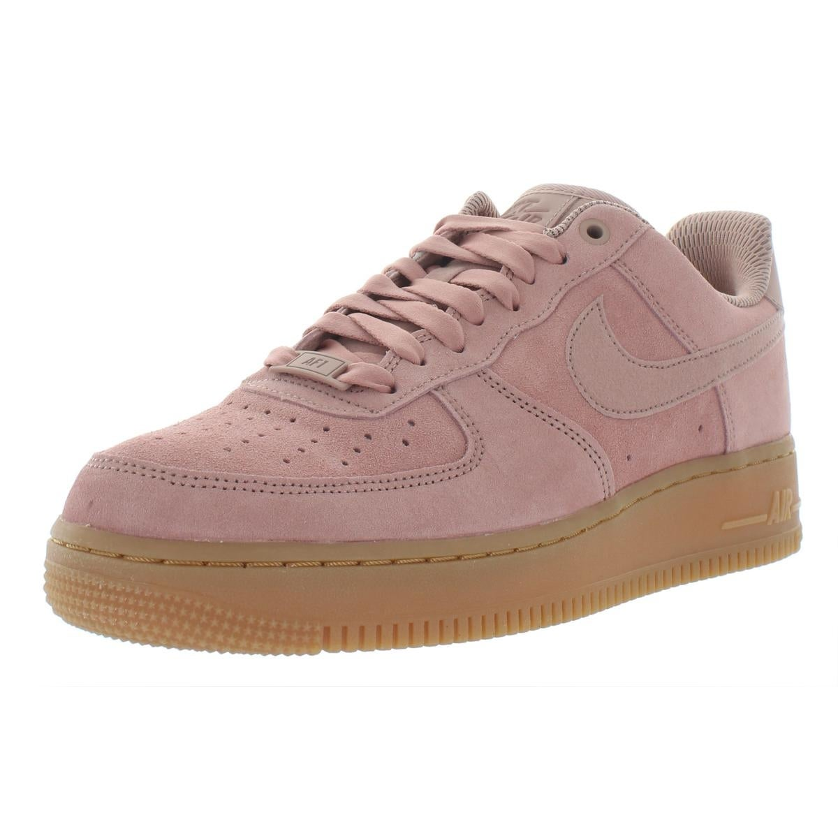 newest c7949 4e8ff Shop Nike Womens Air Force 1  07 SE Fashion Sneakers Suede Low Top - Free  Shipping Today - Overstock - 28001356