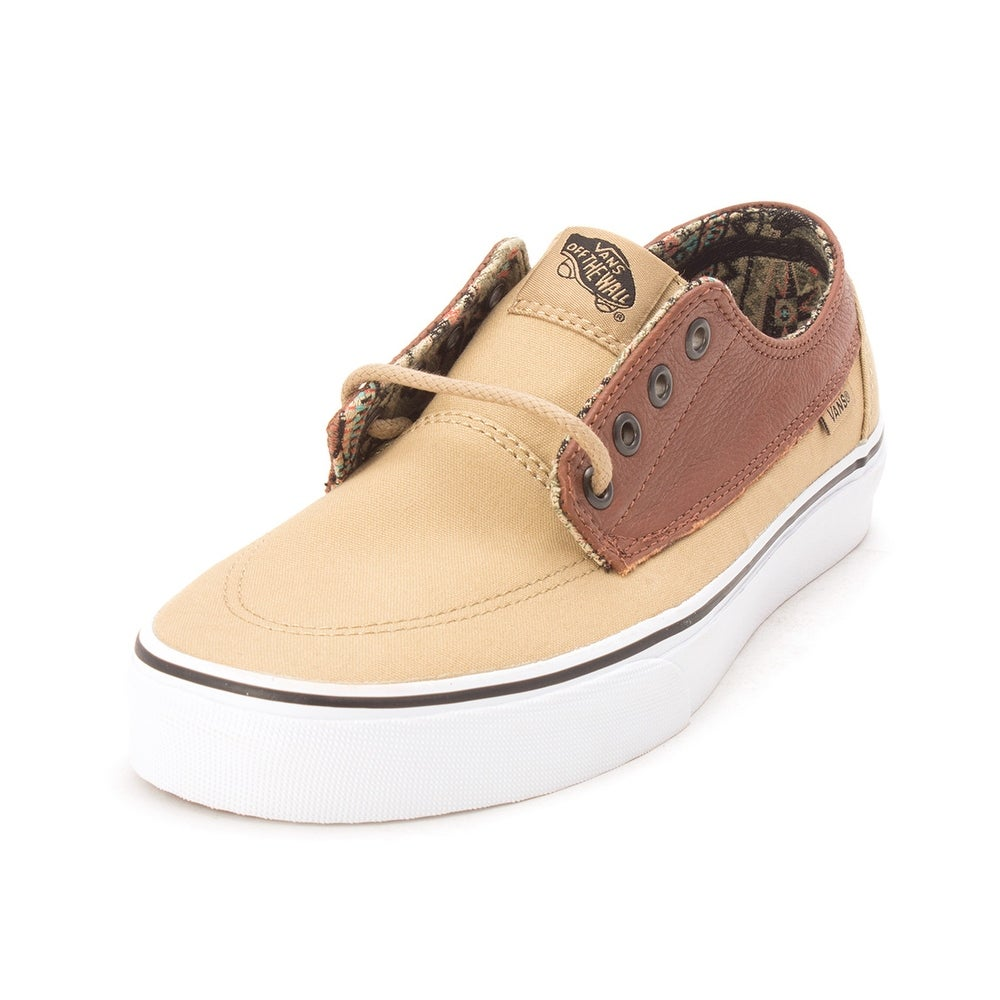 65ce976ebb12f3 Shop Vans Mens Brigata Low Top Lace Up Fashion Sneakers - 7.5 - Free  Shipping On Orders Over  45 - Overstock - 19664869