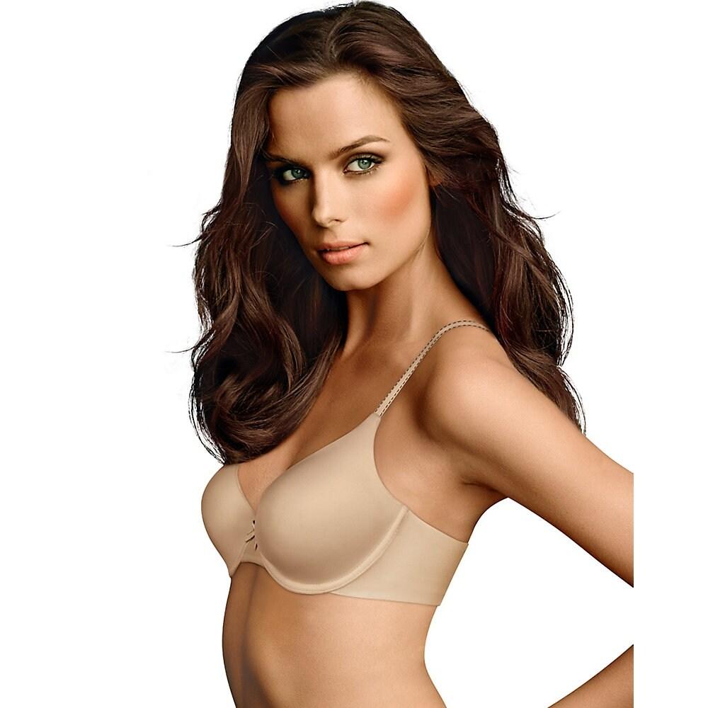 11c981523b436 Shop maidenform comfort devotion demi shirt bra size color latte lift black  free shipping on orders
