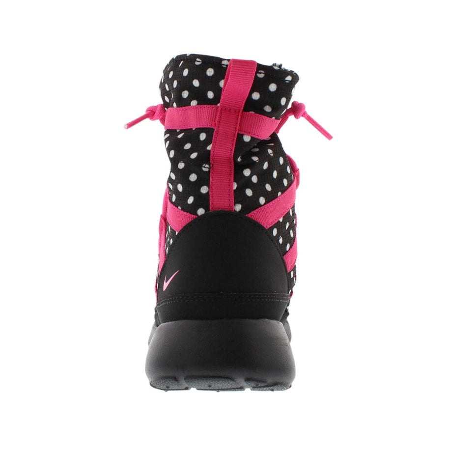 b0b6a7e2cc19 Shop Nike Roshe One Hi Print Sneaker Boots Junior s Shoes - 4.5 M US Big  Kid - Free Shipping Today - Overstock - 22163248