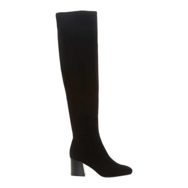 bef55d1c51a Vince Camuto Women s Kantha Over The Knee Boot Black Stretch Microsuede