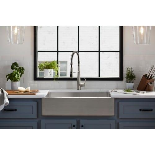 Shop Kohler K-22033 Simplice Semi-professional Kitchen Sink Faucet ...