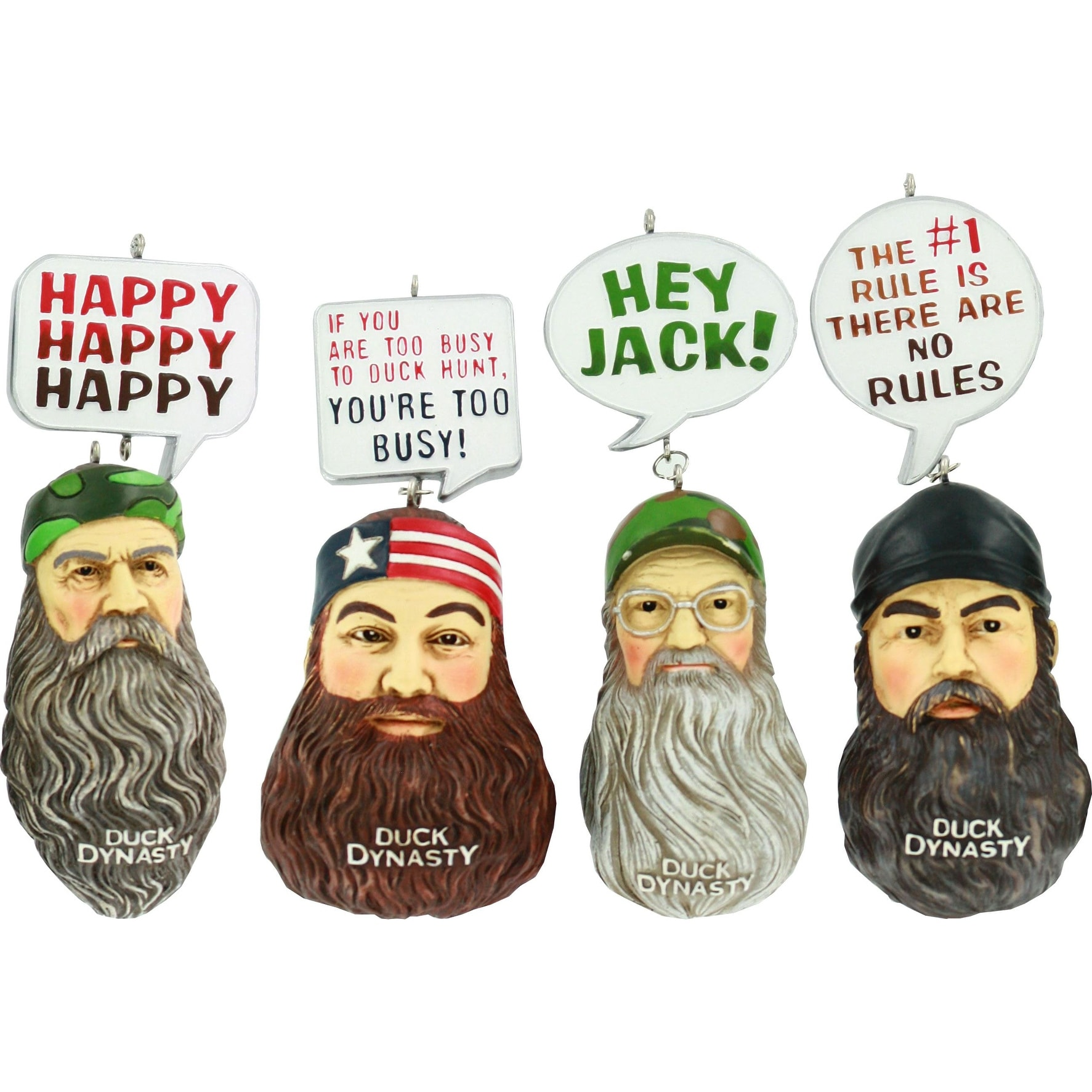 Shop Duck Dynasty Ornament Set - Free Shipping On Orders Over $45 ...