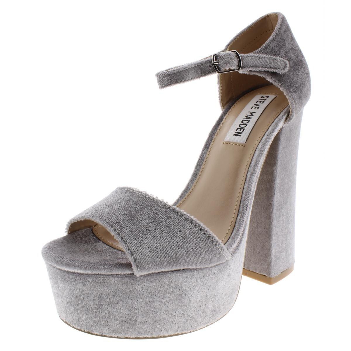 62c3024e602 Steve Madden Womens Bonita Platform Sandals Heels