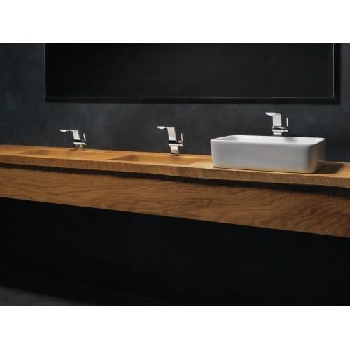 Shop Delta 599-MPU-DST Pivotal 1.2 GPM Single Hole Bathroom Faucet ...