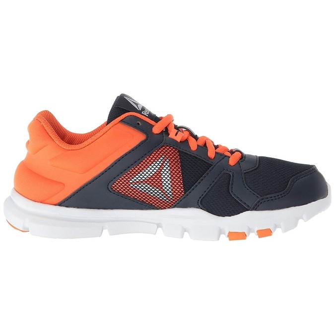 Shop Kids Reebok Boys Yourflex Train 10 Low Top Lace Up Trail Running Shoes  - Free Shipping On Orders Over  45 - Overstock - 25459883 878d2ae8a