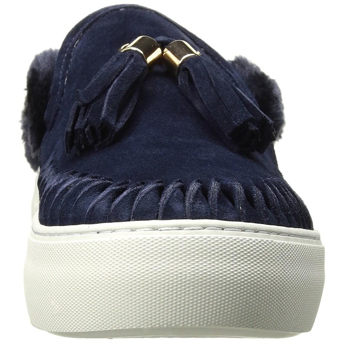 3f7d9997af324 J Slides Womens Azul Low Top Slip On Fashion Sneakers