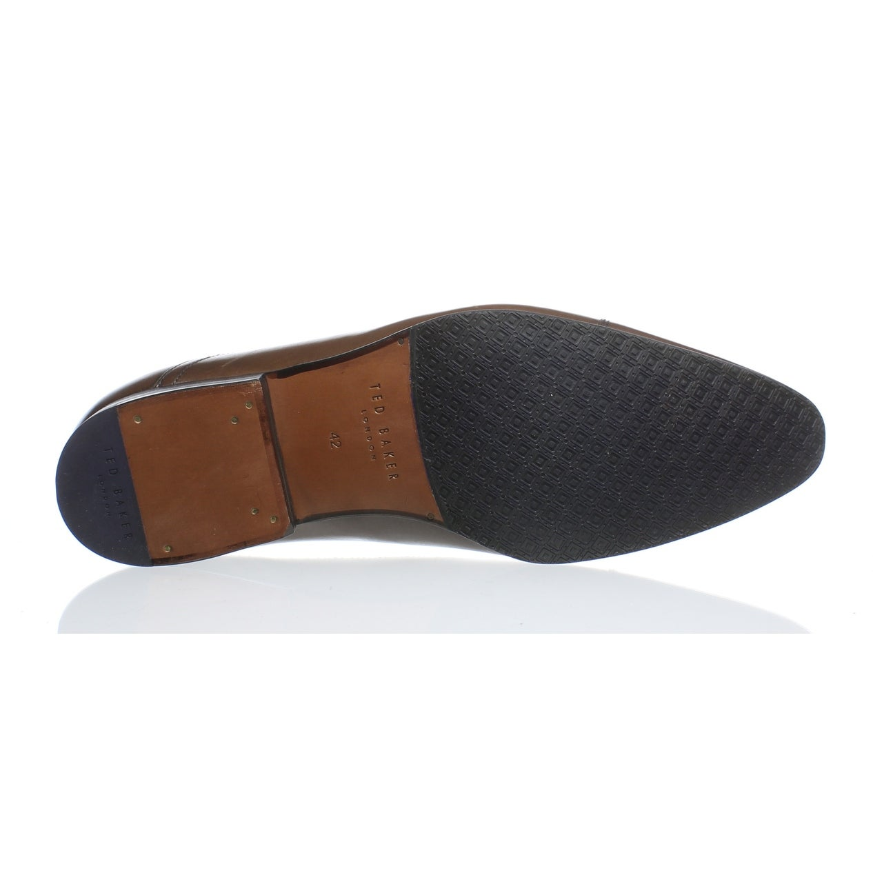8ce794471a865 Shop Ted Baker Mens Roger 2 Brown Oxford Dress Shoe EUR 42 - Free Shipping  On Orders Over  45 - Overstock.com - 27316455