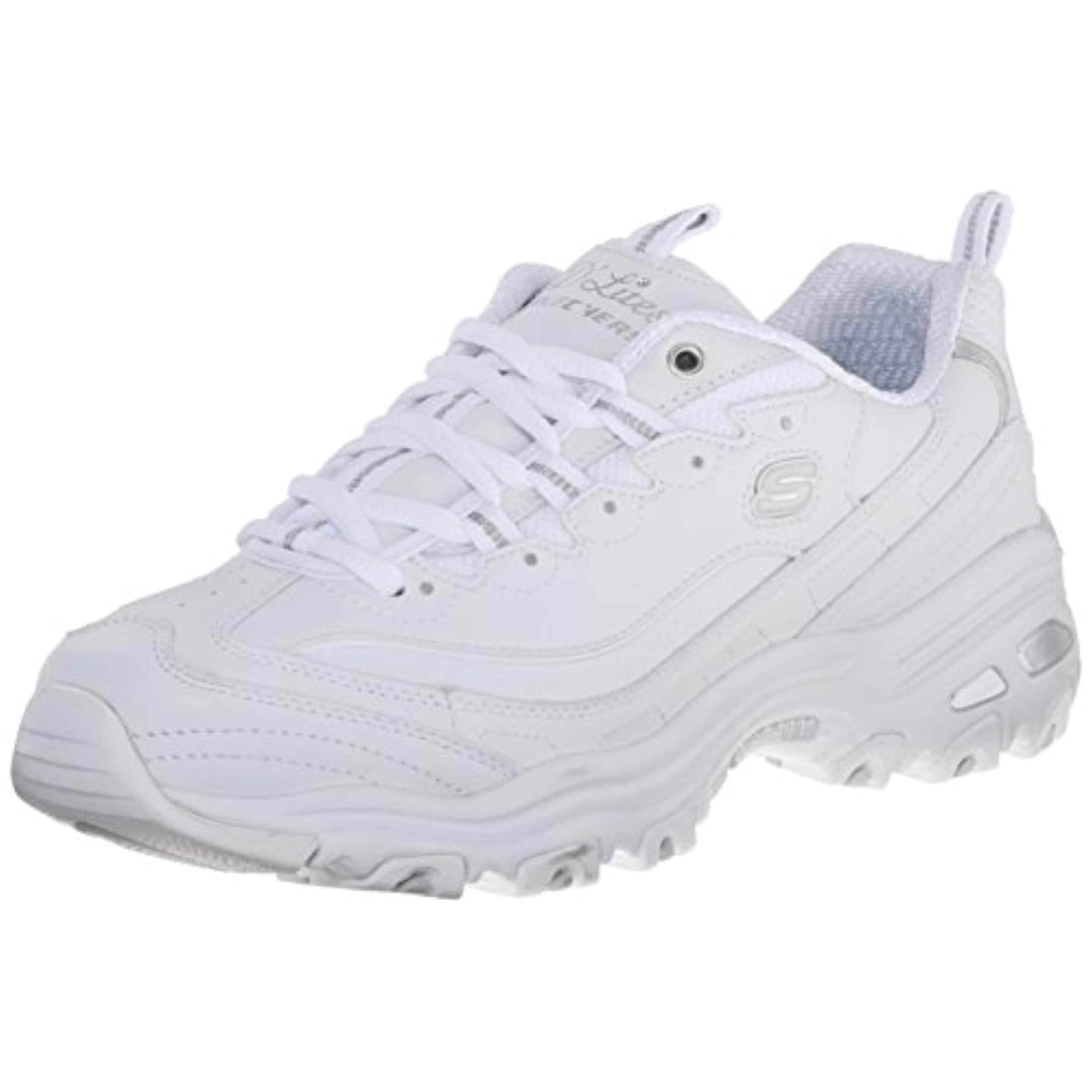 0a6580aa3d30 Shop Skechers Sport Women s D lites Fresh Start Memory Foam Lace-Up Sneaker