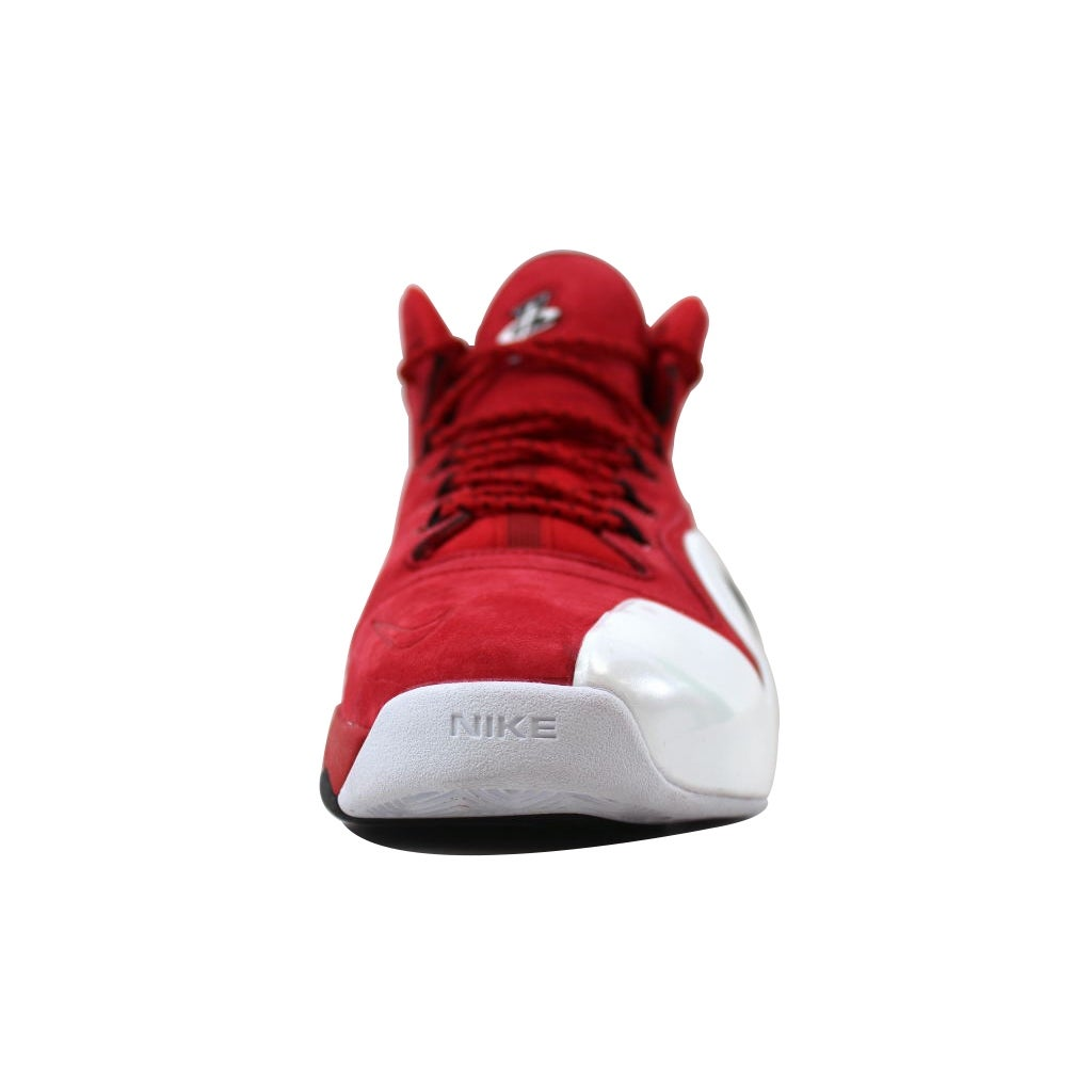 hot sale online 4929b 5fa6e Shop Nike Men s Zoom Penny VI 6 University Red Black-White Red Suede 749629- 600 - Free Shipping Today - Overstock - 20129989
